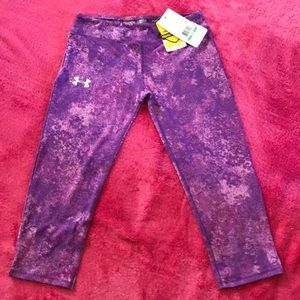 NWT! Youth Large Under Armour Capris